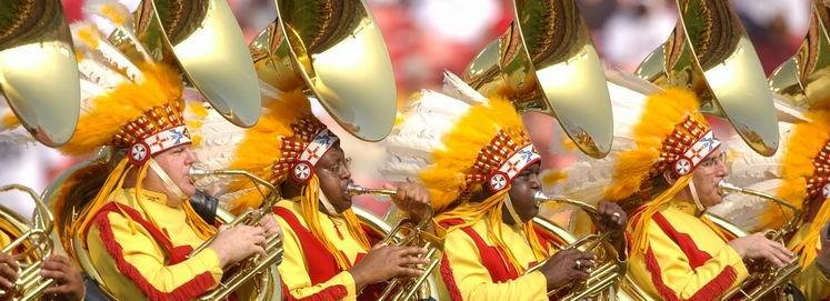 redskins band