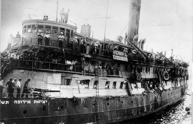 the haganah ship Exodus