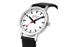 Mondaine Swiss Railway Watch - leather strap